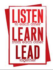 Listen, Learn, and Lead Together
