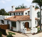Colonial Revival-Spanish Colonial