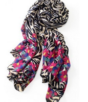 Scarf Jeweled zebra $30