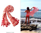 Can be worn as a scarf, sarong, or shawl!