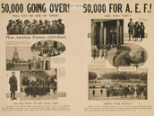 AEF Arrives in Paris - July 4, 1917