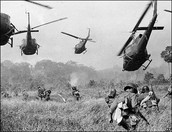 Helicopters were sent to aid the wounded