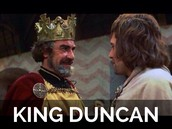 Who is responsible for MacBeth's downfall.