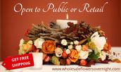wholesale wedding flowers online