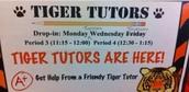 Tiger Tutors in the Technasium!