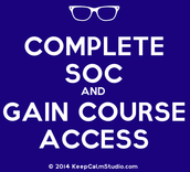 Step 1: Complete the SOC (Student Orientation Course)
