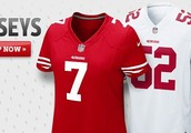 Authentic 49ers Jersey