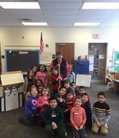 "Joy's class with the ""Golden Shovel"""