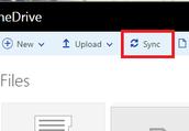 4. Select 'Sync'