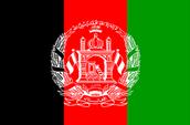 Afghanistans flag