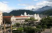 Parque Central Quetzaltenago