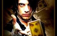 Criss Angel picture with his playing cards.