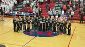 Our Spartan Chorale was honored to perform The National Anthem at our first Spartan's Home Basketball Game