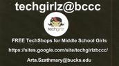 Techgirlz@bccc  hashtag on Twitter