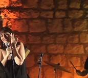 רותי בהופעה באמפי עין הוד