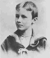 Franklin Delano Roosevelt when he was a kid