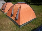 Спавање у шаторима