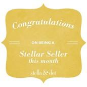 Jennifer Earned the STELLAR SELLER Bonus!