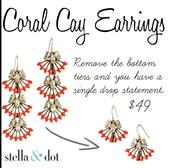 Corral Clay Earrings