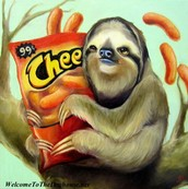 Sloth Painting
