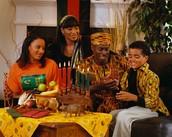 Who celebrates Kwanzaa?