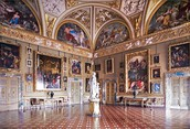Interior of the Palazzo Pitti