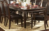Homelegance Dining Table Sets With Crockery Cabinets