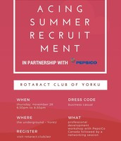 Acing Summer Recruitment!
