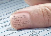 Writing On your nail