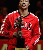 Rose con su título de MVP