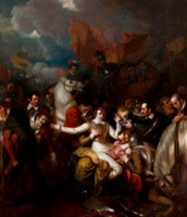 The Fatal Wounding of Sir Philip Sidney