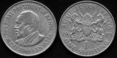 Front and Back of Kenyan Coin