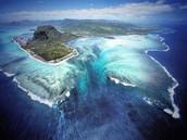 Underwater Waterfall In The Indian Ocean