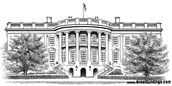 Drawing of the White House
