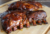 All you can eat ribs/Todo lo que pueda comer costillas