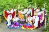 Dancers at the Osa peninsula