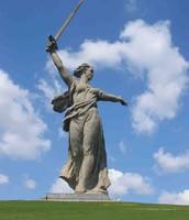 Город герой Волгоград. Мамаев курган.