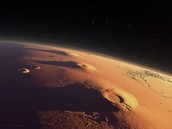 This is what Mars looks like from outer space