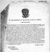 1846 U.S declares war against mexico