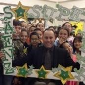 Saenz Elematary  celebrates Texas Public School Week