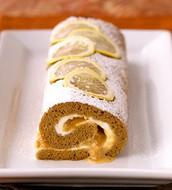 Gingerbread Roulade con Dulce de Leche Empaste
