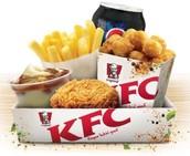 Our Chicken Popcorn Lunchbox