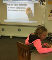 Enrichment participate in Genius Hour!
