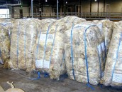 a picture of wool produced
