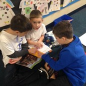Working on our Book Buddy Books