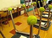 Tennis Balls Needed