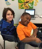Reading Buddies are awesome!