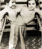 Twins at the came Aushwitz-Birkenau