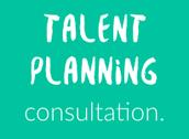 Talent Planning consultation week
