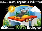 Calentador Solar Marca Solaris Acero Inoxidable